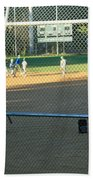 Baseball Practice Beach Towel