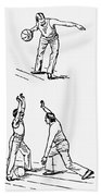 Basketball, 1893 Beach Towel