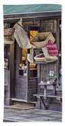 Baskets For Sale Beach Towel by Heather Applegate