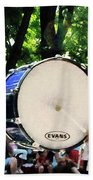 Bass Drums On Parade Beach Towel