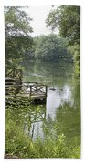 Bass Pond Biltmore Estate Beach Towel