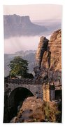 Bastei, Saxonian Switzerland National Beach Towel