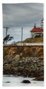 Battery Point Lighthouse 1 B Beach Towel