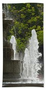 Battle Fountain Beach Towel