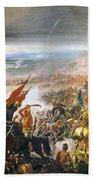 Battle Of Avay Beach Towel