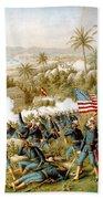 Battle Of Qusimas Beach Towel