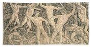 Battle Of The Nudes Beach Sheet