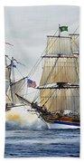 Battle Sail Beach Towel