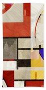Bauhaus Rectangle Three Beach Towel