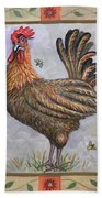 Baxter The Rooster Beach Towel