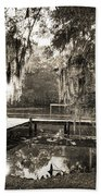 Bayou Evening Beach Towel