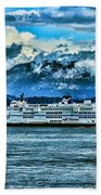 B.c. Ferries Hdr Beach Towel