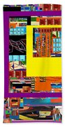 be a good friend to those who fear Hashem 12 Beach Towel by David Baruch Wolk