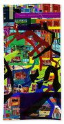be a good friend to those who fear Hashem 16 Beach Towel by David Baruch Wolk