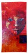 Be Golden Beach Towel by Nancy Merkle