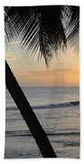 Beach At Sunset 2 Beach Towel