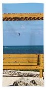 Beach Bench Beach Towel
