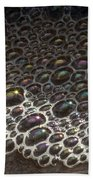 Beach Bubble Reflections Beach Towel