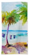 Beach House Tropical Paradise Beach Towel