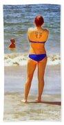 Beach Mom Beach Towel