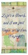 Beach Notes-e Beach Towel