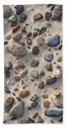 Beach Stones Beach Towel