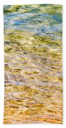 Beach Water Abstract Beach Towel