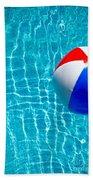 Beachball On Pool Beach Towel