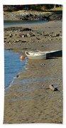Beached Dinghy Beach Towel