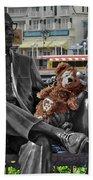 Bear And His Mentors Walt Disney World 07 Beach Towel