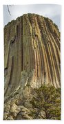 Bear Lodge National Historic Landmark Beach Towel
