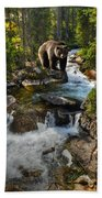 Bear Necessity Beach Towel