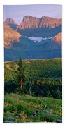 Bear Valley Glacier National Park Beach Towel