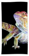 Bearded Dragon Beach Towel