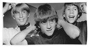 Beatle Haircuts Get Reprieve Beach Towel