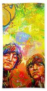 Beatles Rubber Soul Beach Towel