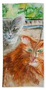Beauregard And Stonewall Beach Towel