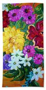 Beauties In Bloom Beach Towel