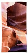 Beautiful Antelope Canyon Colors Beach Towel