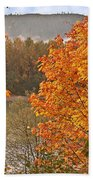 Beautiful Autumn Gold Art Prints Beach Towel