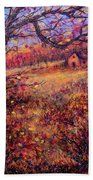 Beautiful Autumn Beach Towel
