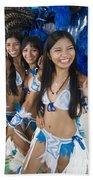 Beautiful Women Of Brazil 2 Beach Towel