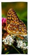 Beautiful Butterfly Beach Towel