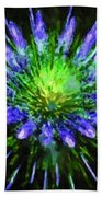 Beautiful Colorful Holiday Fireworks 1 Beach Sheet