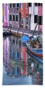 Beautiful Colors Of Burano Beach Towel