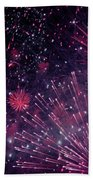 Beautiful Fireworks 12 Beach Towel