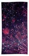 Beautiful Fireworks 12 Beach Sheet