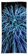 Beautiful Fireworks 13 Beach Towel