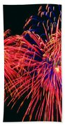 Beautiful Fireworks 14 Beach Towel