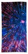 Beautiful Fireworks  2 Beach Towel